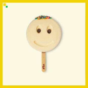 Vanilicious Ice Cream Stick (Smiling face shaped) CLASSIC!