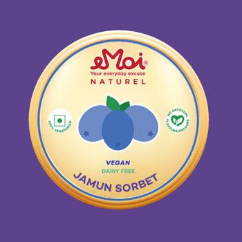 Jamun Sorbet (Vegan)
