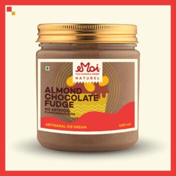 Almond Chocolate Fudge (Naturel)
