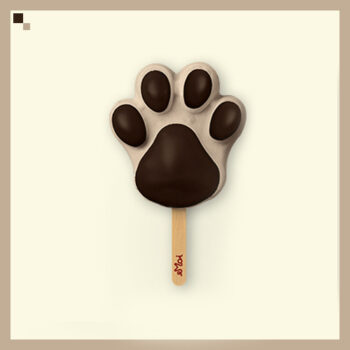 Cold Coffee Ice Cream Stick (Paw Shaped) MUST TRY!