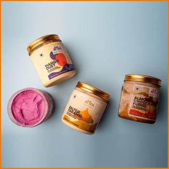 Pack Of 4 Ice cream Jars