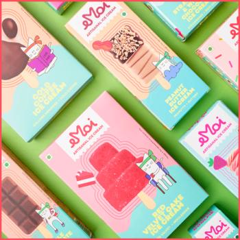 Pack of 4  Ice Cream Sticks